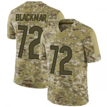 Men's Blake Blackmar Chicago Bears Limited Camo 2018 Salute to Service Jersey