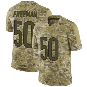 Men's Jerrell Freeman Chicago Bears Limited Camo 2018 Salute to Service Jersey