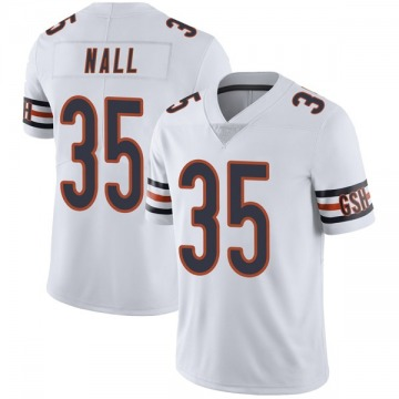 Men's Ryan Nall Chicago Bears Limited White Vapor Untouchable Jersey