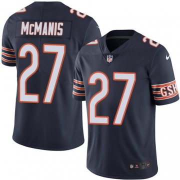 Men's Sherrick McManis Chicago Bears Limited Navy Blue Team Color Jersey
