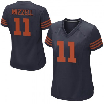 Women's Taquan Mizzell Chicago Bears Game Navy Blue Alternate Jersey