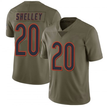 Youth Duke Shelley Chicago Bears Limited Green 2017 Salute to Service Jersey