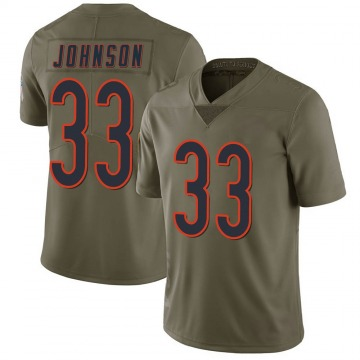Youth Jaylon Johnson Chicago Bears Limited Green 2017 Salute to Service Jersey