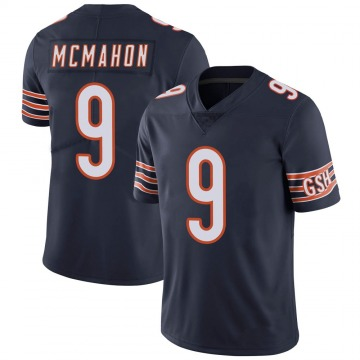 Youth Jim McMahon Chicago Bears Limited Navy 100th Season Jersey
