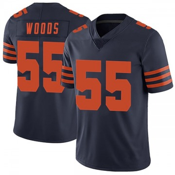 Youth Josh Woods Chicago Bears Limited Navy Blue Alternate Vapor Untouchable Jersey