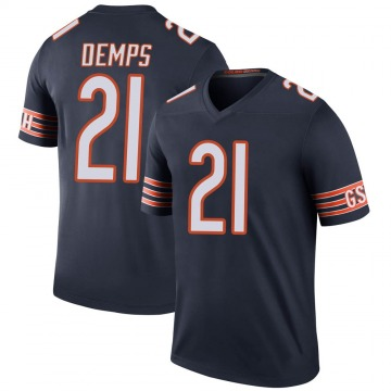 Youth Quintin Demps Chicago Bears Legend Navy Color Rush Jersey