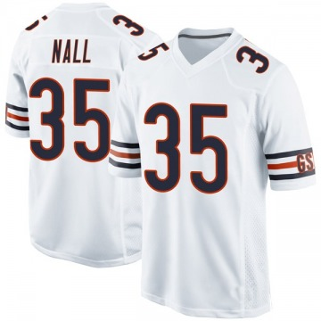 Youth Ryan Nall Chicago Bears Game White Jersey